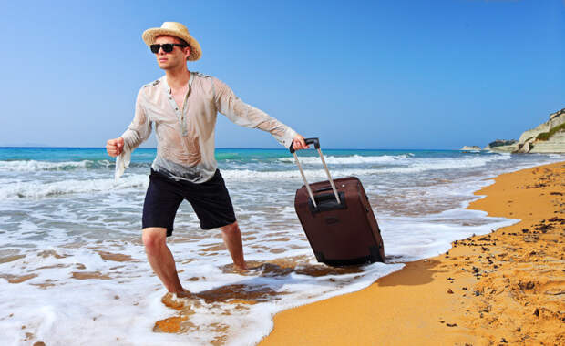 Чемодан станет не просто удобной сумкой для вещей. люди, путешествия