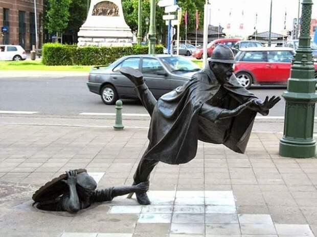 Скульптуры презревшие закон тяготения