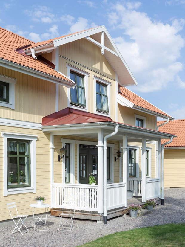 Чудесный дом в Швеции, вдохновлённый сказкой Пеппи Длинныйчулок