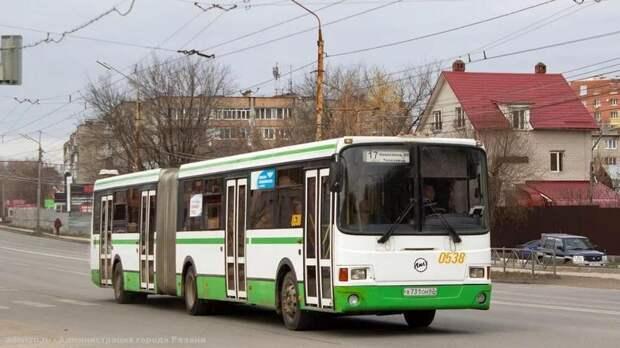 В Рязани увеличат число автобусов на маршруте №17