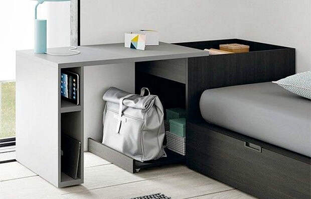 10 столов-«невидимок», которые буквально растворяются в пространстве