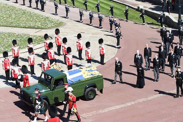 Принца Филиппа похоронили в часовне Виндзорского замка