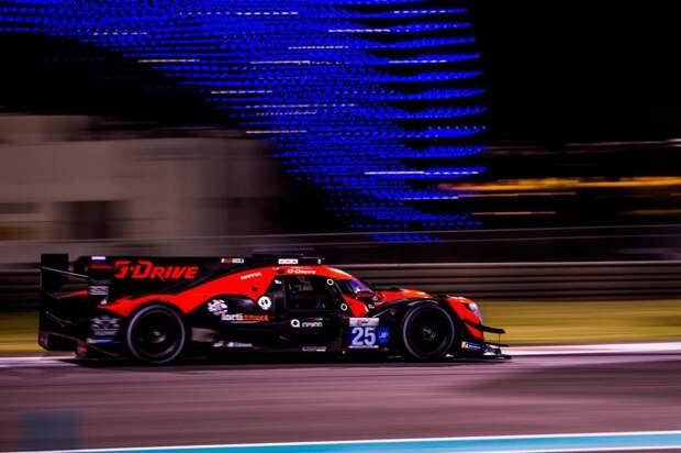 Оба экипажа G-Drive Racing попали в топ-3 по итогам первой гонки этапа Азиатской серии Ле-Ман в Абу-Даби