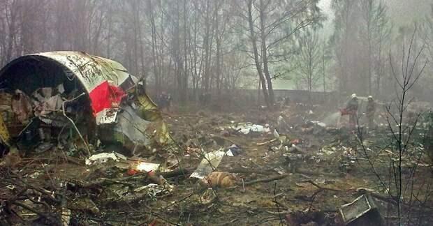 Польша предъявила России «взрывчатку спецслужб» в самолете президента Качиньского