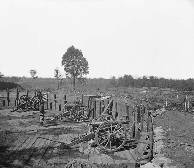 Фотографии гражданской войны в США
