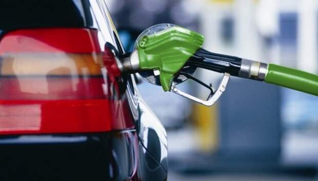 Бензин заправка