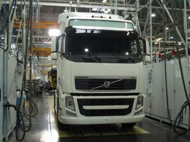 Volvo остановит выпуск грузовиков в Калуге