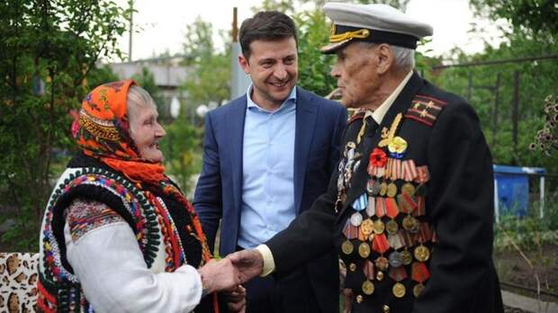 Зеленский и Иван Залужный