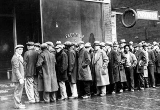 За бесплатным супом. Мир празднует день безработных