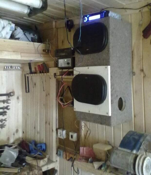 7. И музычку в гараж поставить компьютер, новая жизнь старых вещей, процессор, своими руками, системный блок