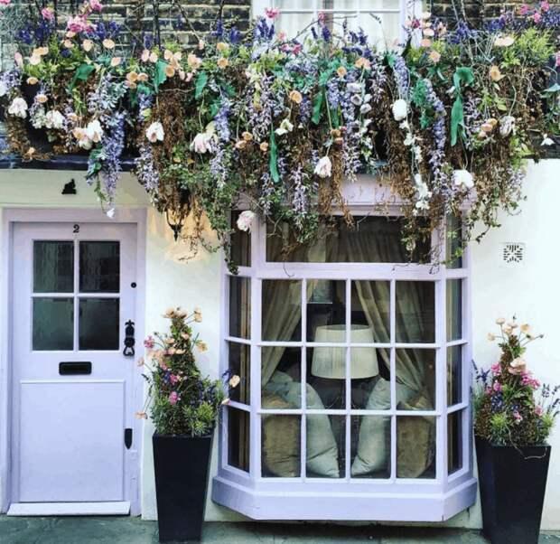30 сказочно красивых входных дверей