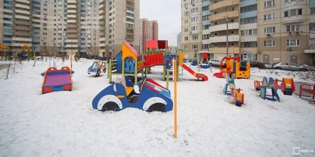 Детскую площадку на 3-й улице Марьиной рощи обезопасили – «Жилищник»