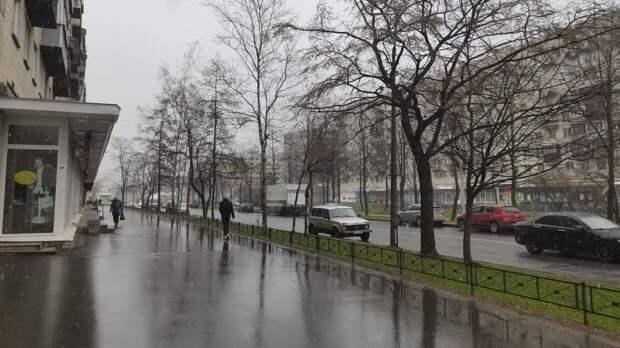 Атмосферный фронт принесет в Петербург небольшое потепление
