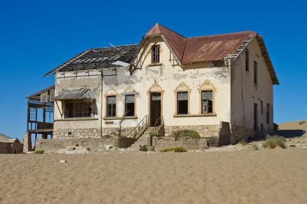 жуткая гостиница Намибии