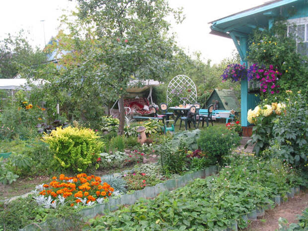 Современный дачный сад - он какой?