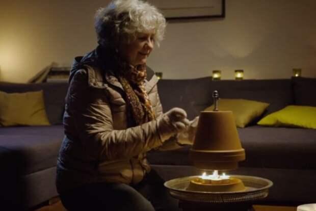 Немцам показали, как выжить без тепла и электричества
