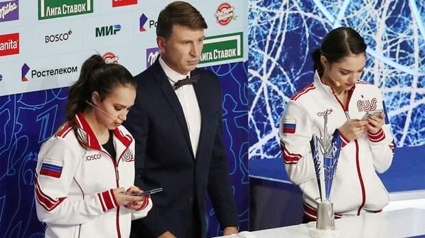 «Мне больше по душе жеребьевка». Медведева удивилась, что ей с Загитовой пришлось выбирать участников для команд