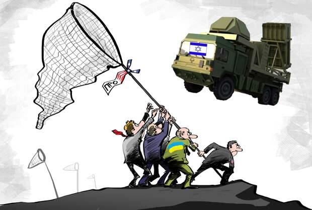 Украина ждёт, когда ей дадут по «Железному куполу»