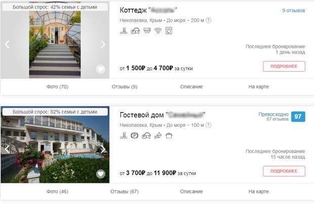 От 700 до 250 000 рублей за сутки: Сколько стоит отдых в Крыму летом