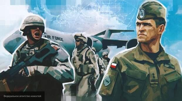 Угроза с Запада: США планомерно стягивают войска к границе с Россией