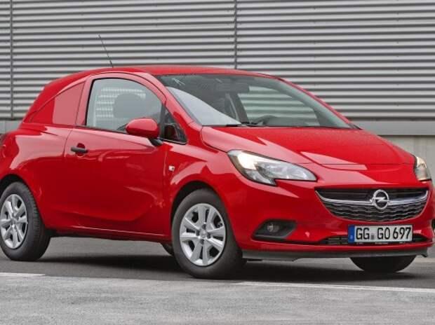 Opel выпустил трехдверный Corsa-фургон