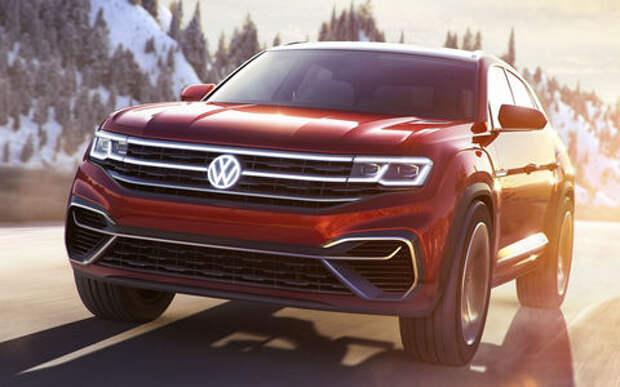 Volkswagen готовит новый крутой кроссовер