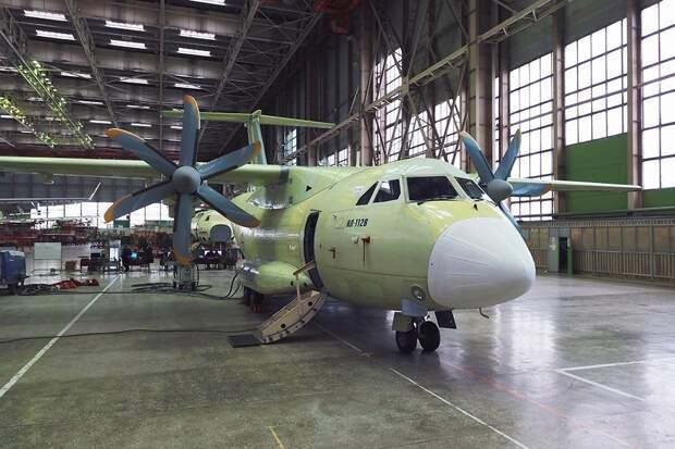 Стали известны меры по снижению массы турбовинтового самолета Ил-112В