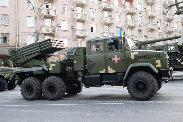 """""""Град"""" стал """"Вербой"""": начался серийный выпуск украинской версии БМ-21"""