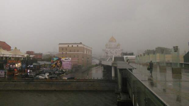 Циклон «Роланд» принесет в Москву дожди на следующей неделе