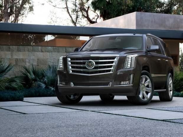 Cadillac представит на ММАС-2014 новый Escalade и купе ATS
