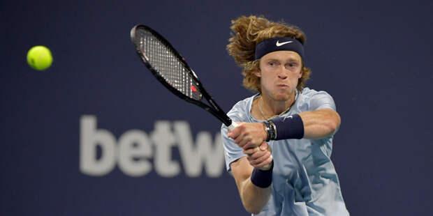 Рублев обыграл Надаля и вышел в полуфинал турнира серии «Мастерс» в Монте-Карло