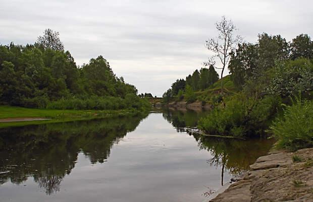 Река Сновь, правый притоке Десны.