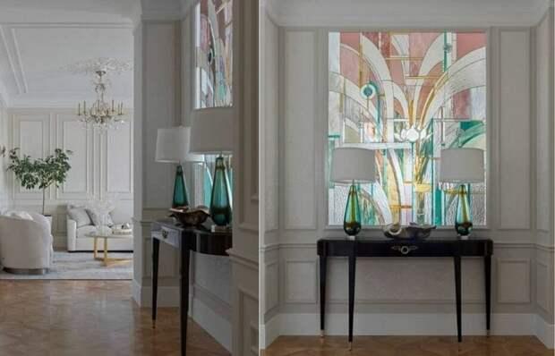 Добавьте в квартиру больше света: монтируем витраж в межкомнатные перегородки