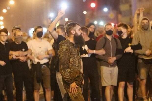 Боевики Майдана в Киеве засветились на беспорядках в Минске