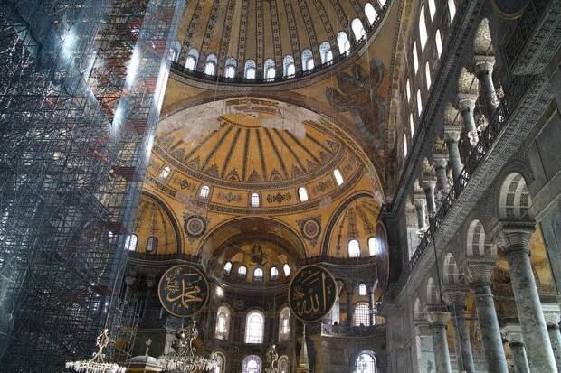 Идею открыть мечеть в храме Святой Софии одобрил Госсовет Турции