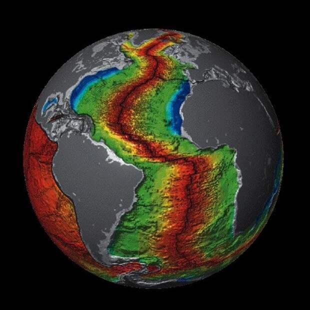 В Атлантике поднимается новый огромный остров?
