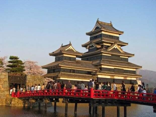 Замок Мацумото. Япония