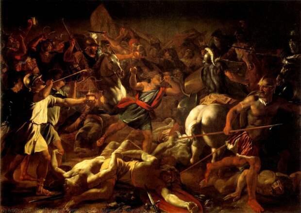 Истребление мадианитян судьей Гедеоном (Иллюстрация из открытых источников)
