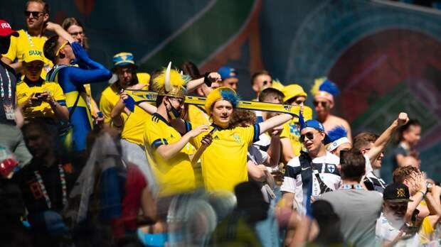 Сборная Швеции открыла счет на второй минуте матча Евро-2020 с Польшей