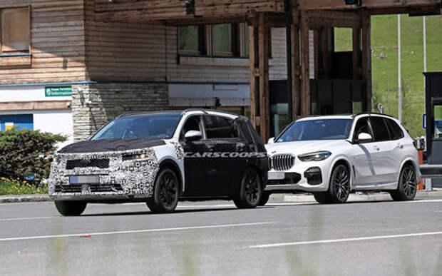 Kia Sorento нового поколения копируют с BMW X5