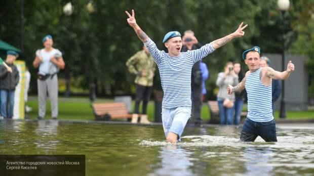 Московский Парк Горького не готовит праздничной программы по случаю Дня ВДВ