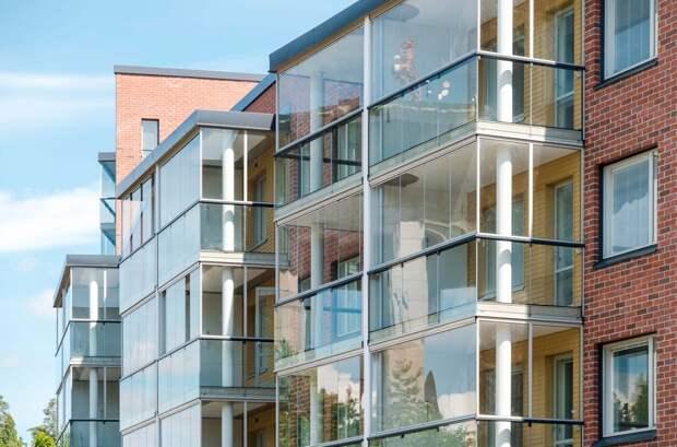 Власти Москвы заказали у финнов стекло для балконов на 4 млн евро