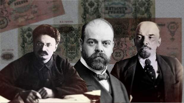 Лев Троцкий, Александр Парвус и Владимир Ленин