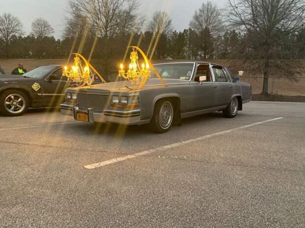 Роскошный лимузин