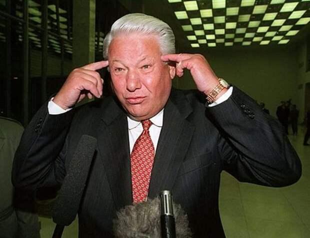 Как Ельцин подтирался государственными символами России