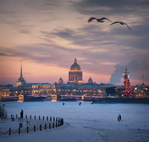 Прогулки по нарядному Санкт-Петербургу