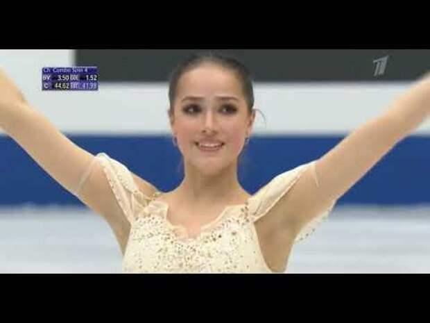 Чемпионка Алина Загитова: «До последнего держала себя в тонусе»