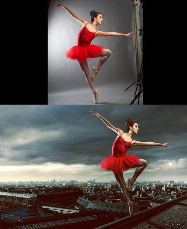 Создание постановочных фото в фотошопе