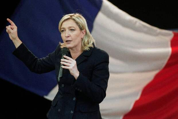 Марин Ле Пен REUTERS/Pascal Rossignol