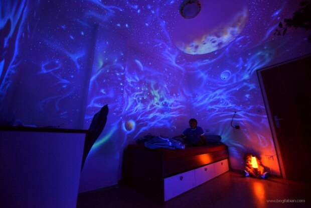 Прекрасное оформление комнат